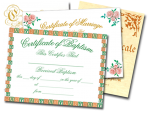 Certificates and Letters