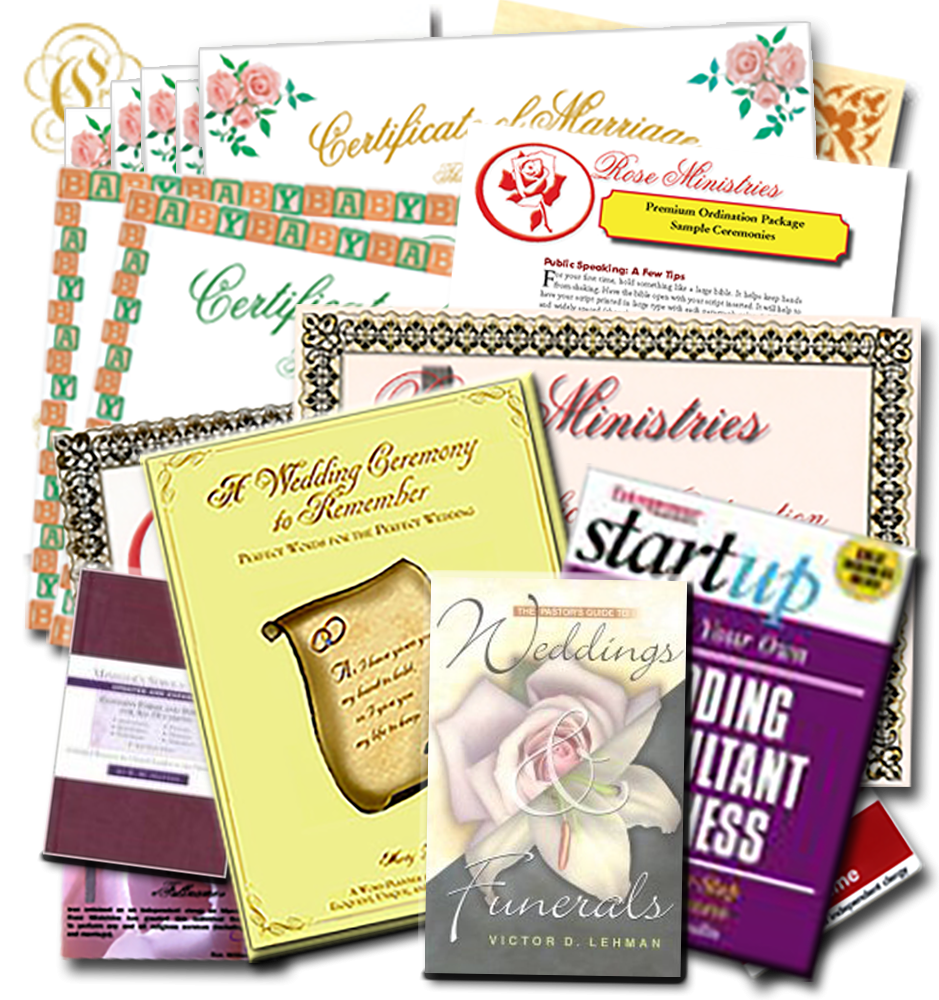 Ultimate Minister's Ordination Package