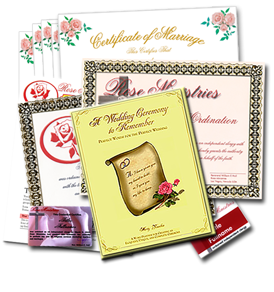 Wedding Officiate Package